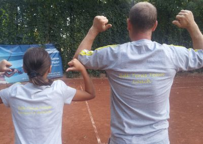 antrenor de tenis